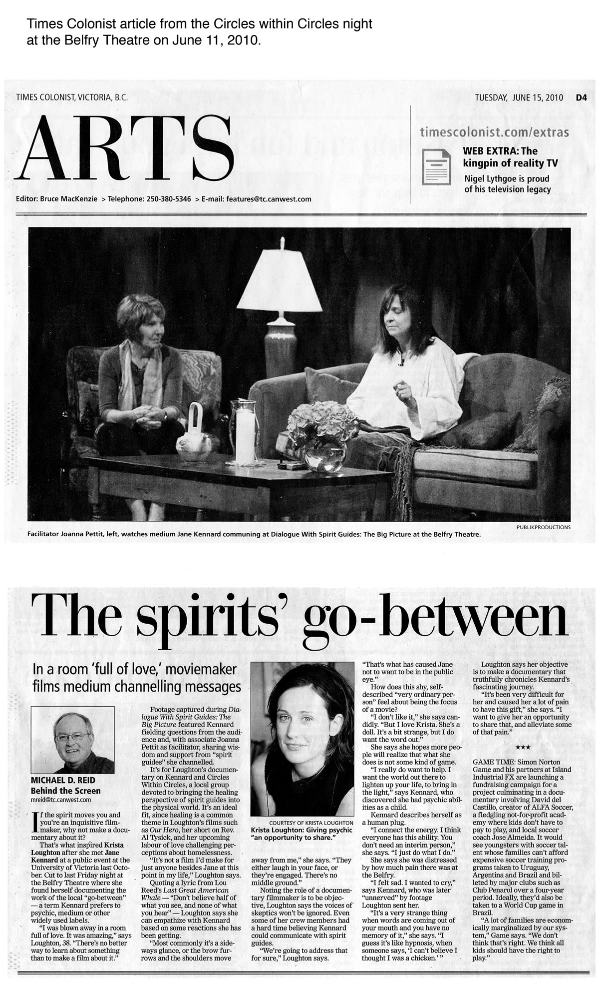 The-Spirits-Go-between-Times-Colonist-article-by-Michael-D-Reid-2010-about-Jane-Kennard-1200