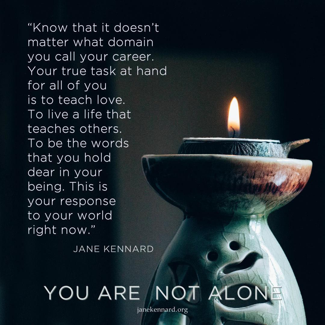 Jane-Kennard-Shared-Wisdom-you-are-not-alone-hans-vivek-unsplash